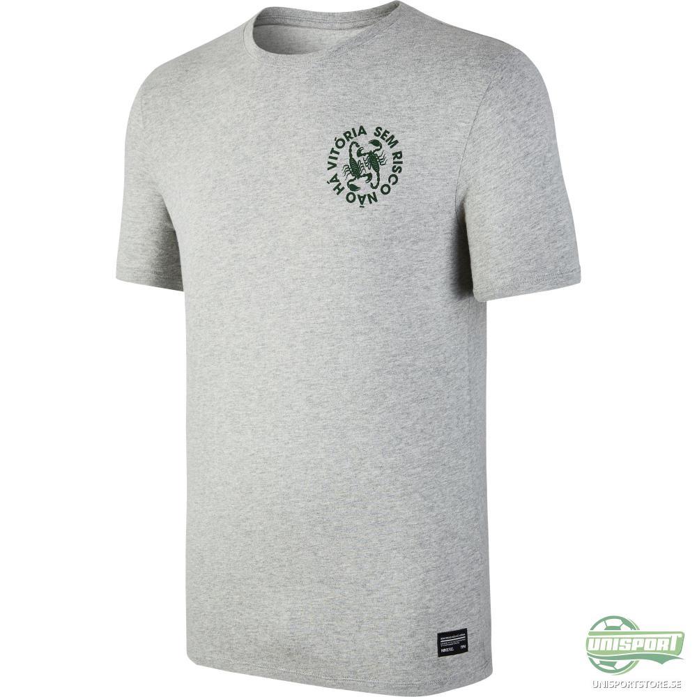 Nike F.C. T-Shirt Scorpion Grå
