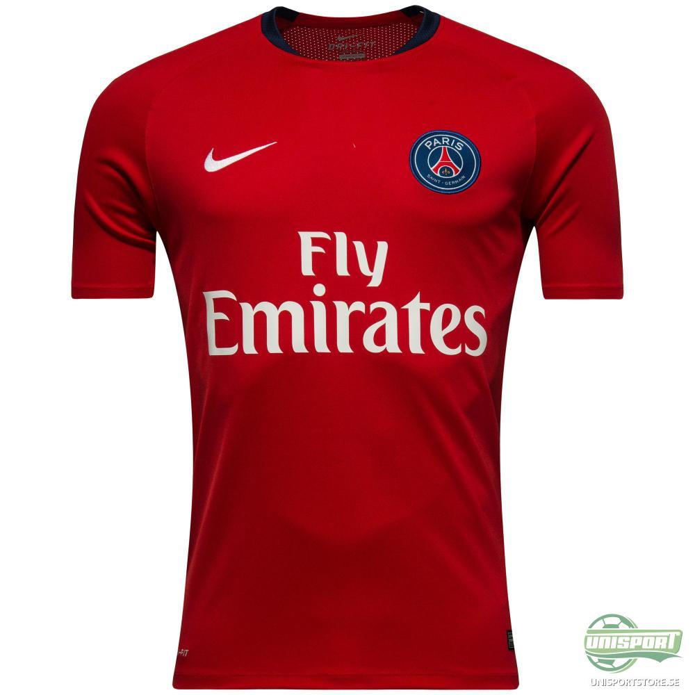 Paris Saint Germain Träning T-Shirt Flash Röd/Vit