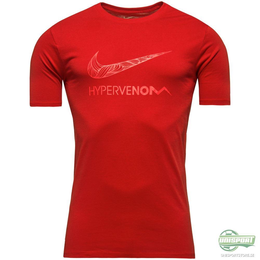 """Nike T-Shirt Hypervenom Neymar Jr """"Ousadia e Alegria"""" Röd"""