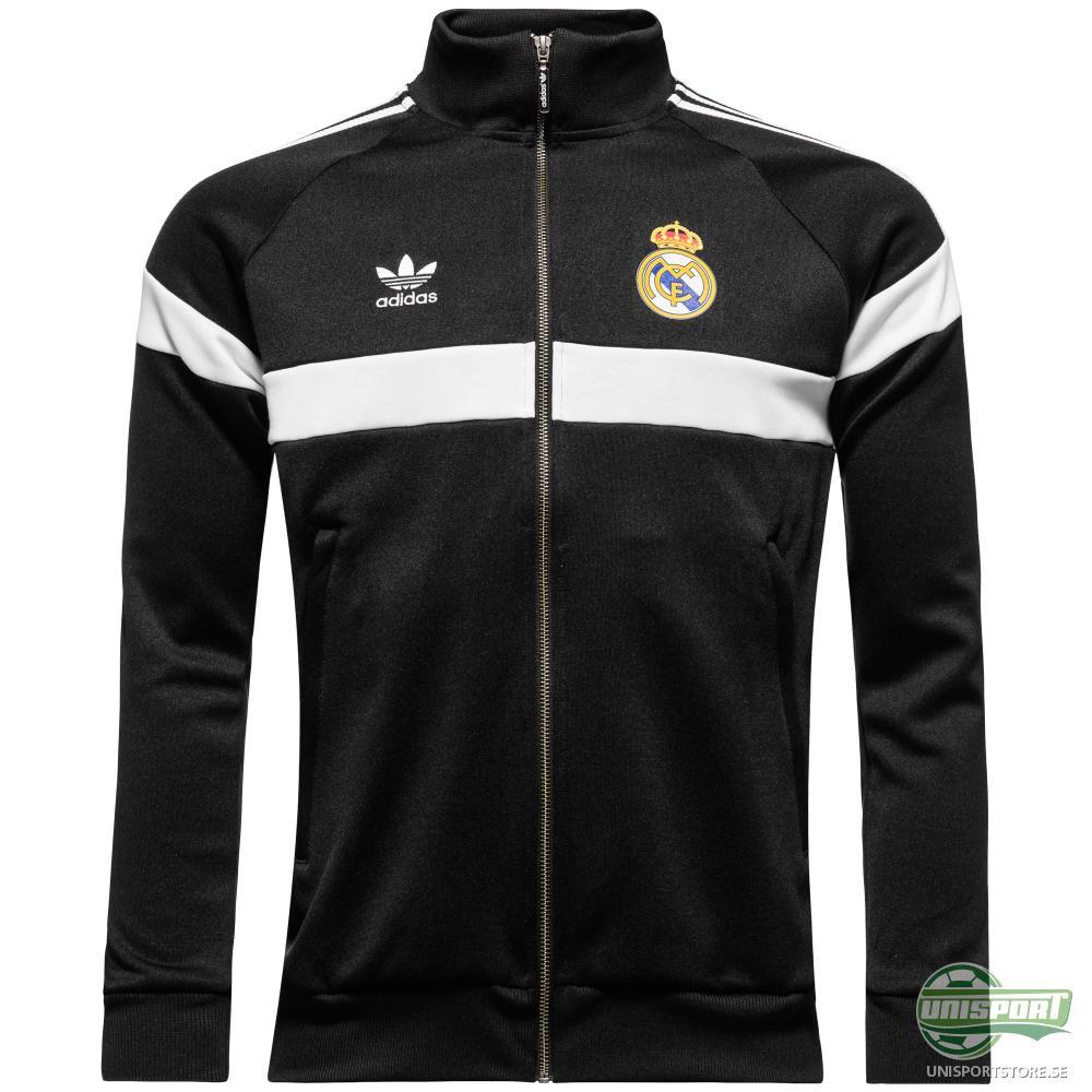 Real Madrid Track Top Originals Svart