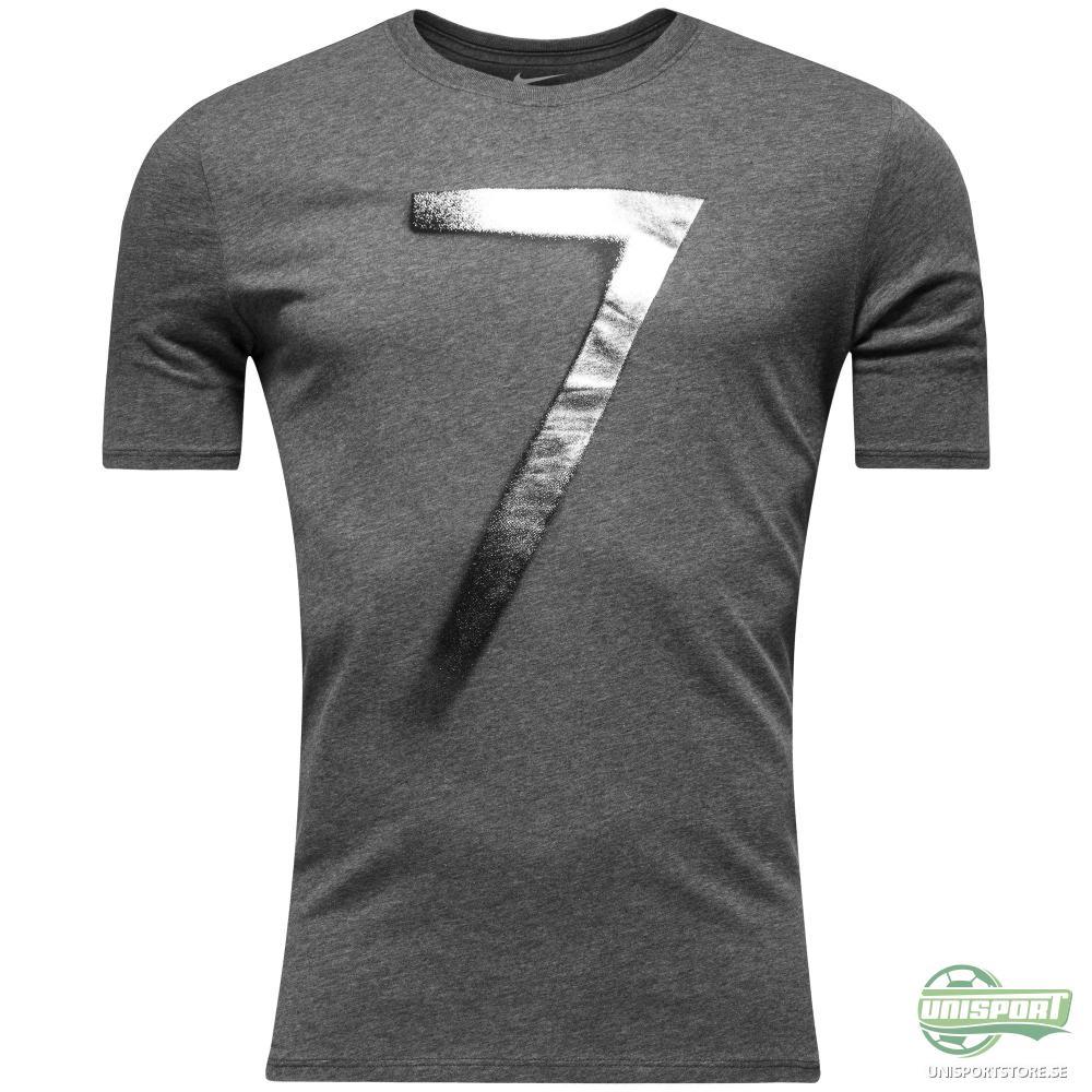 Nike T-Shirt CR7 Logo Grå