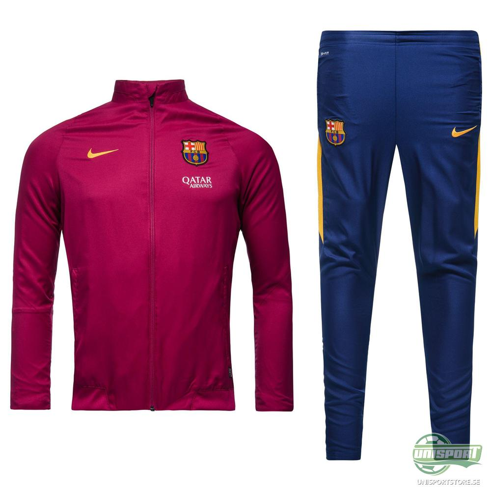 Barcelona Träningsoverall Revolution Sideline Woven Warm Up Lila/Gul Barn