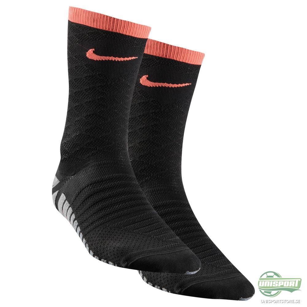 Nike Fotbollsstrumpor Strike Tempo Crew Svart/Orange