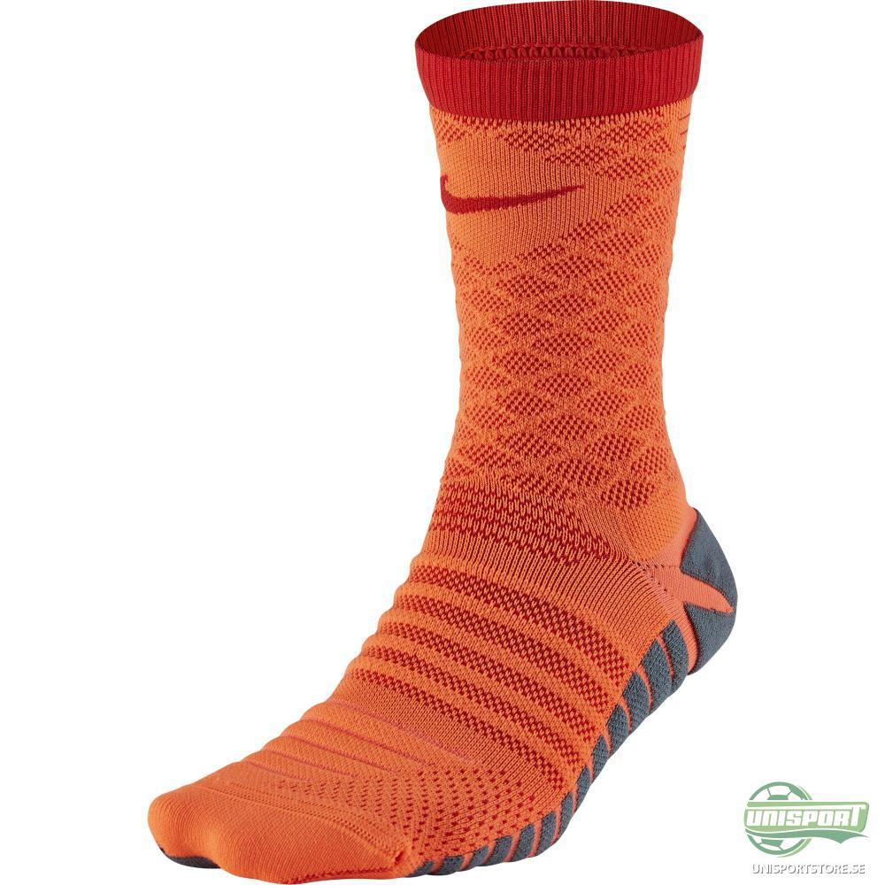 Nike Fotbollsstrumpor Strike Tempo Crew Orange/Röd