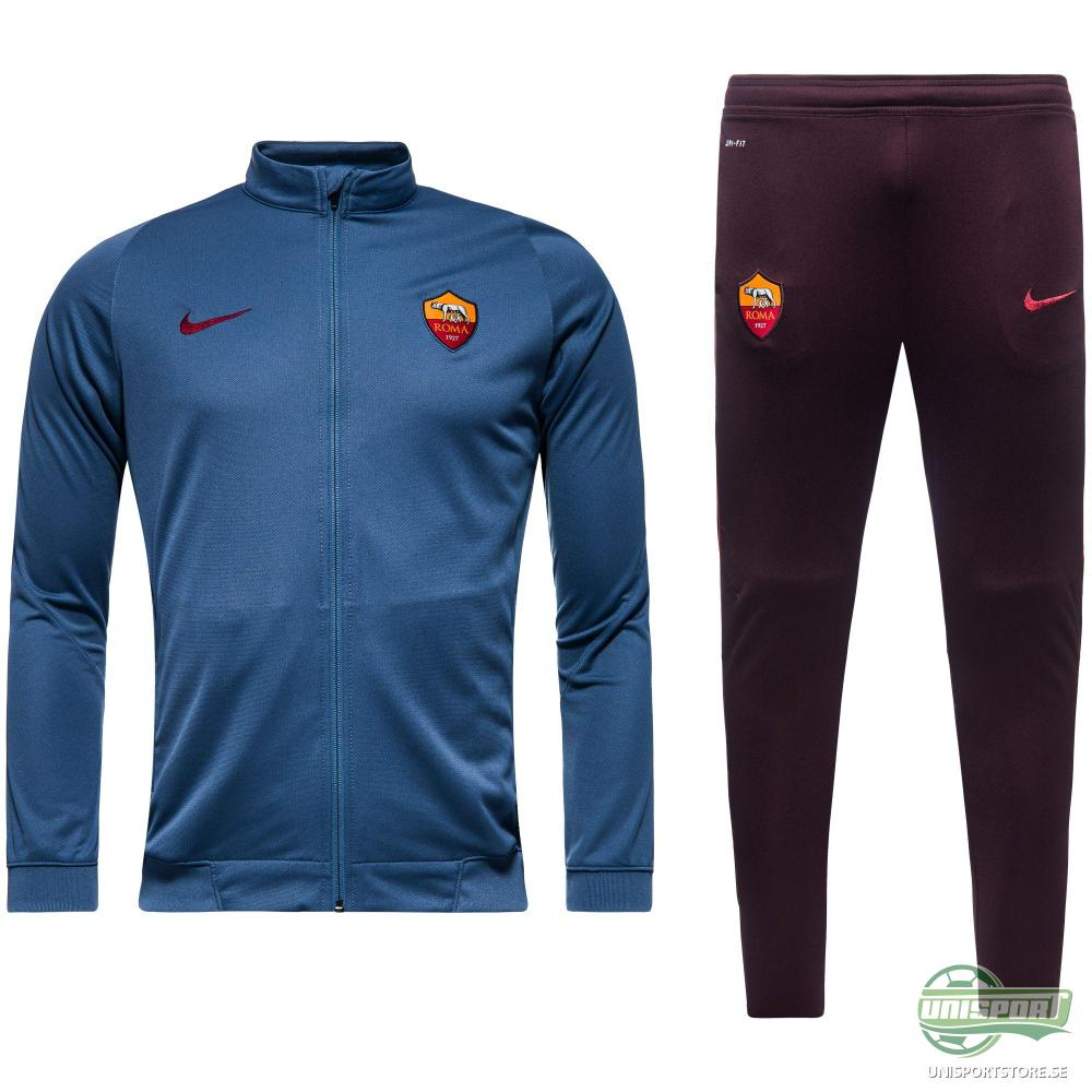 Roma Träningsoverall Revolution Sideline Knit Warm Up Blå/Röd Barn
