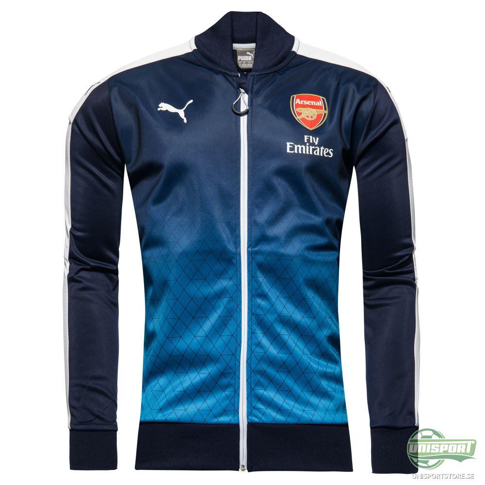 Arsenal Track Top Stadium Navy/Vit