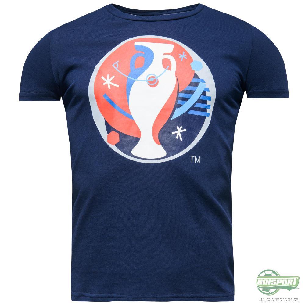 adidas T-Shirt Euro Logo Navy Dam