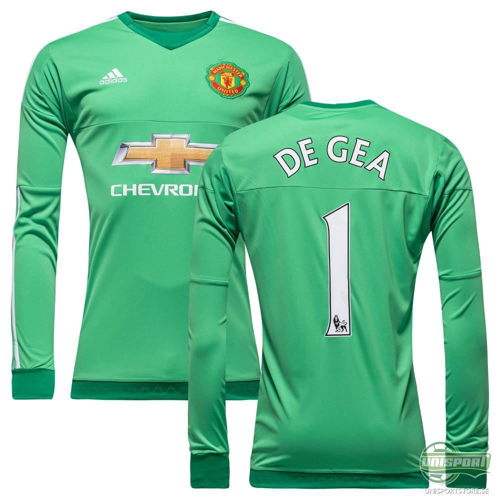 Manchester United Målvaktströja 2015/16 Grön DE GEA 1 Barn