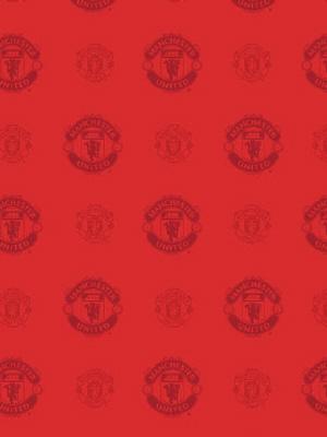 Manchester united tapet r d for Man u bedroom wallpaper