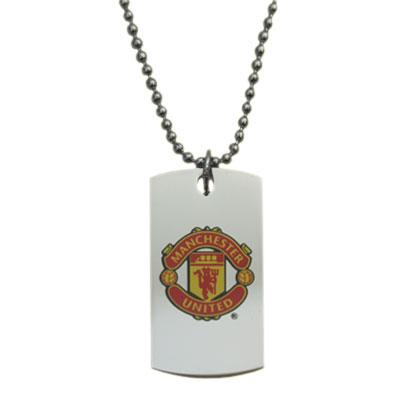 Manchester United Dog Tag Logo