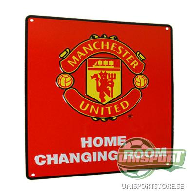 Manchester United 'Home Changing Room' Skylt