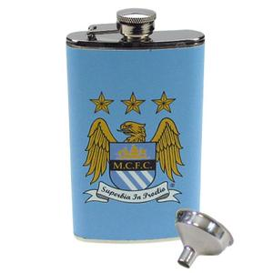 Manchester City - Lommelærke Logo
