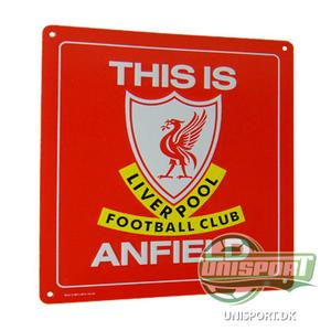 Liverpool - 'This is Anfield' Skilt