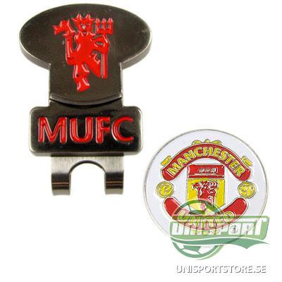Manchester United Hattklämma & Golfmarkör