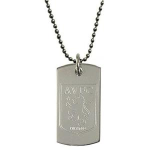 Aston Villa - Dog Tag Logo