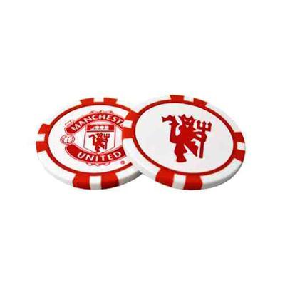 Manchester United Poker Chip Bold Markører Merchandise (1247940963)
