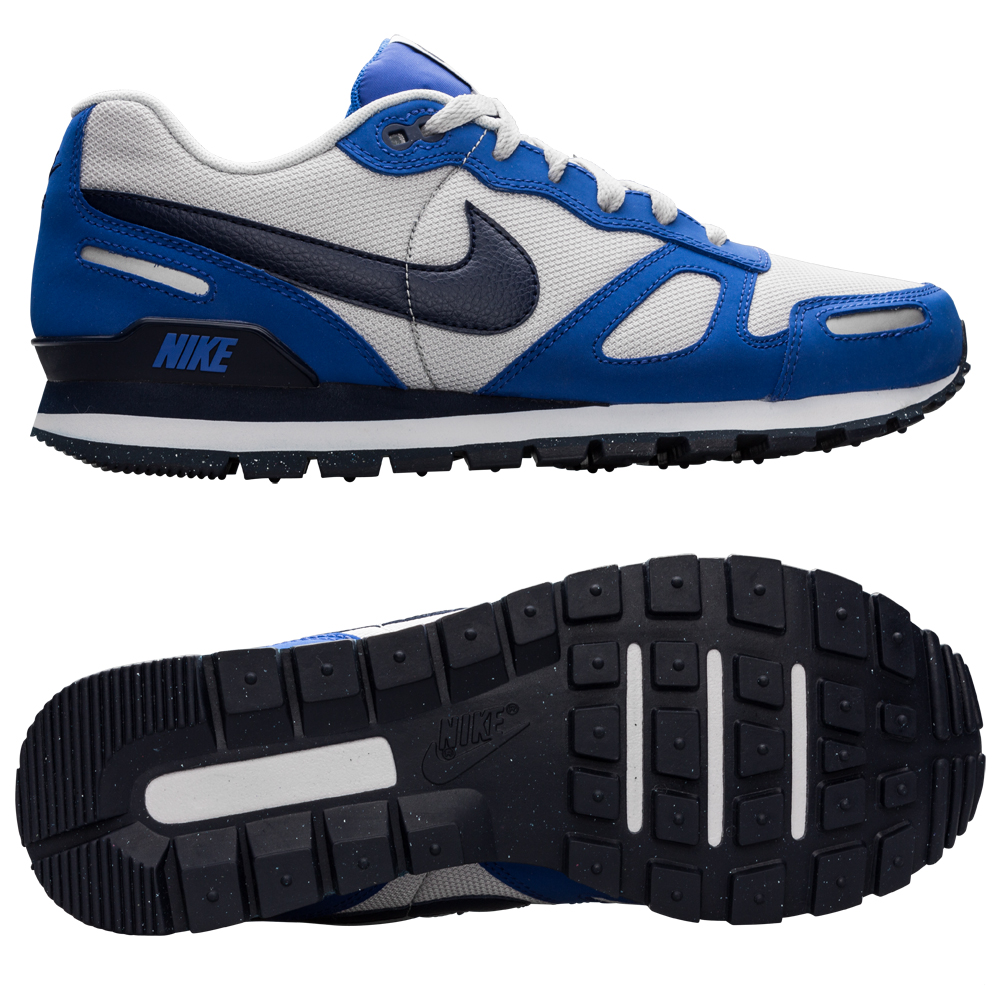 nike air waffle trainer white blue. Black Bedroom Furniture Sets. Home Design Ideas