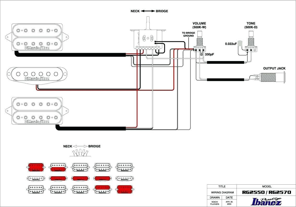 Dimarzio P Bass Wiring