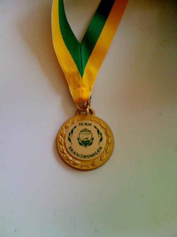 Skanörsmilen medalj
