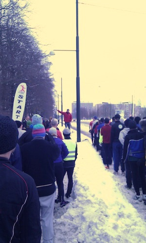 Sylvesterloppet 2010 - Start