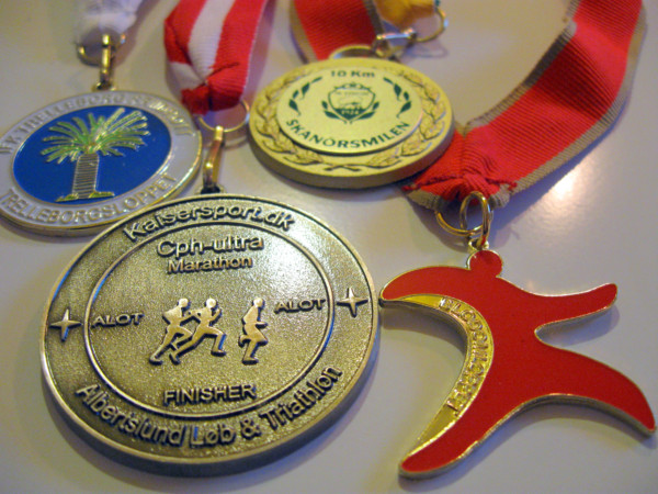 Medaljer 2010