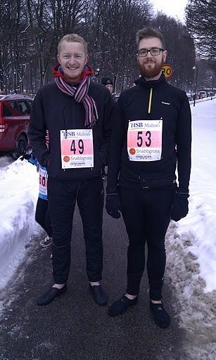 Sylvesterloppet Malmö 2010 - Strax innan start