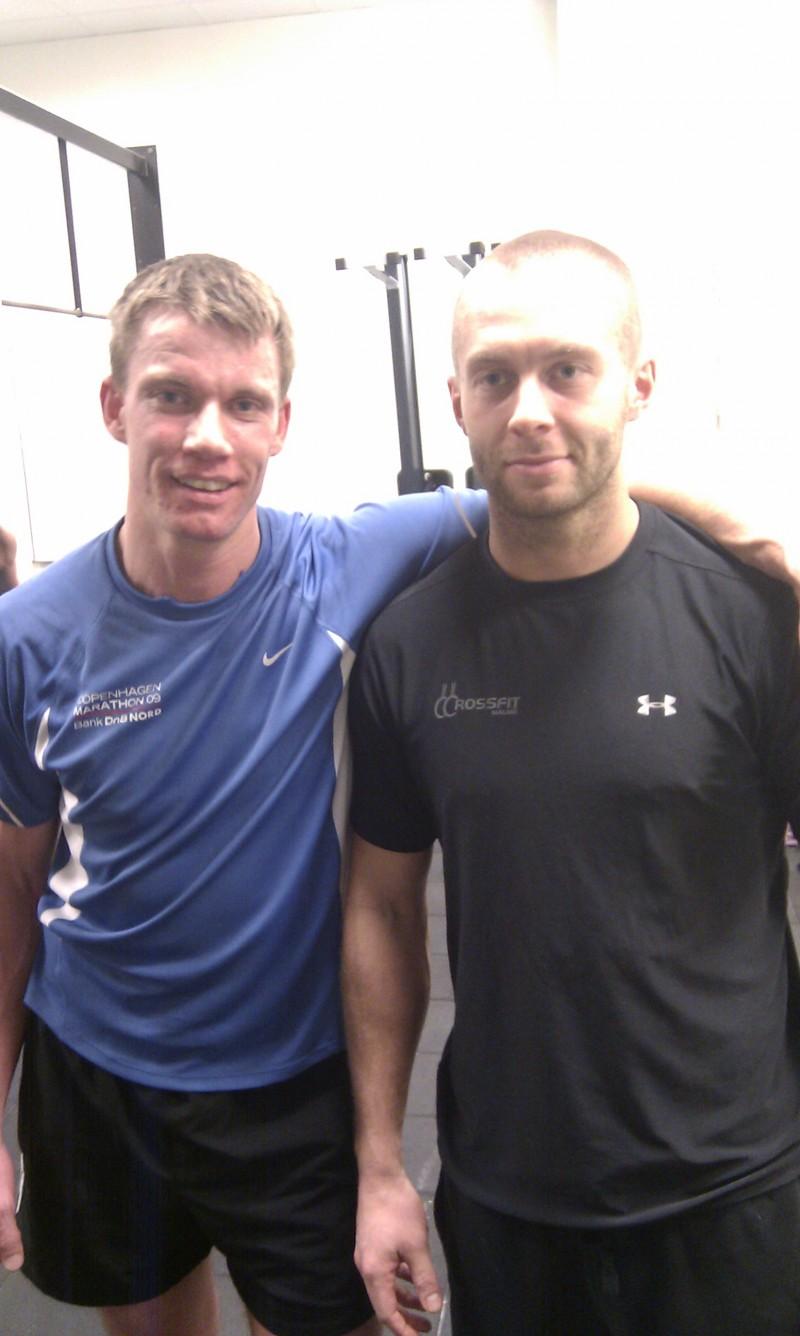 Rasmus och instruktören Lars