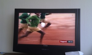 Barfotalöpning i Rapport