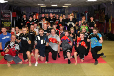 Finished 6 weeks of a kickboxing course for fitness, Thursday 19th Oct 2017