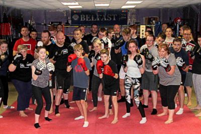 This was the 5th Week of a brand New ProKick beginners course at Belfast's HQ on 12th Oct 2017