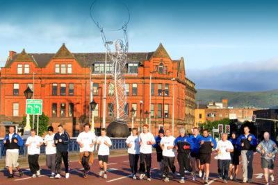Belfast city Bridge Run 6am
