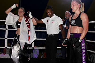 Cathy McAleer Vs Tina Harvey for TFC title
