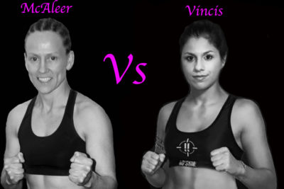 Cathy McAleer will face Chiara Vincis under K1 Rules in Italy