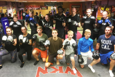 Finished 6 Weeks at ProKick beginners 10th August