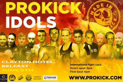 ProKick Idols are Made in Belfast