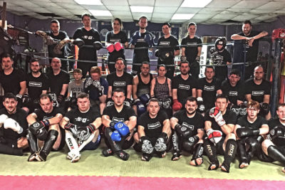 New ProKick sparring Class which kicked-off on Nov 15Th