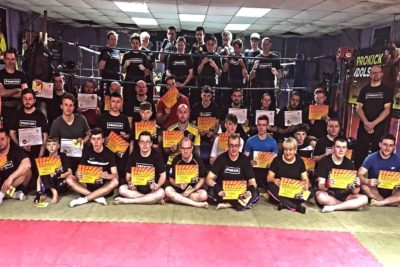 Adult ProKick Grading Group Sunday 17th DEC 2017