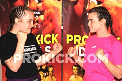 Grace Goody and Jade Molloy will battle it out for a Jrn Irish School girls title