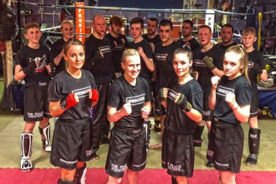 Ladykillers Top The Bill at the Stormont Hotel this Saturday 17th FEB 2018 - Fit, focused,they are ProKick's fighting females.