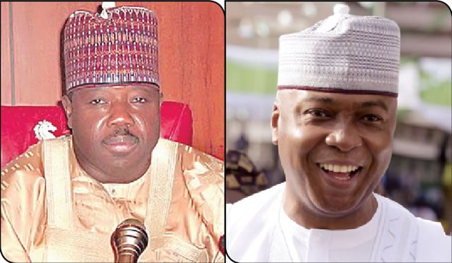 Saraki, Sheriff hold secret talks