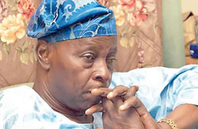 Falae Links Jonathan To N100m Election Funds Scam, Email To EFCC As Evidence