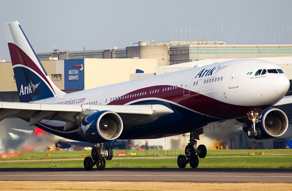 Protesting workers shut down Nigeria's largest airline, Arik