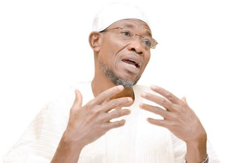 Image result for Workers beg Aregbesola to pay 21-month salary with FG refund