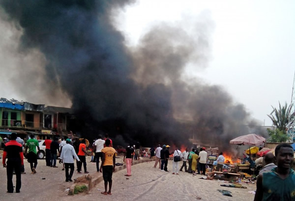Two female suicide bombers killed in Maiduguri