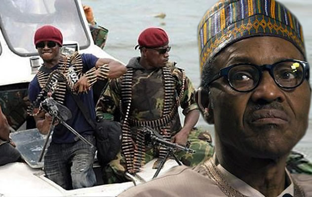 We're ready for dialogue, Niger Delta militants reply Buhari