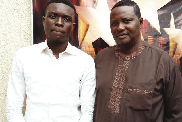 Ifeoluwa and his father