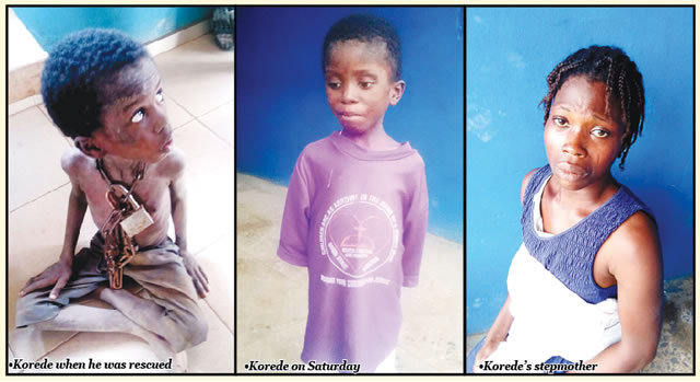 Police arrest pastor for chaining nine-year-old son