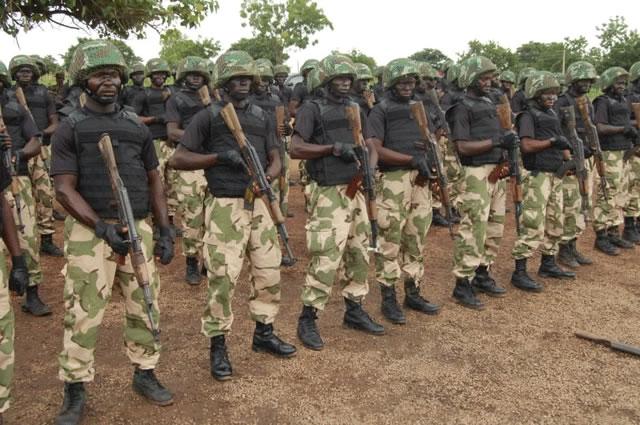 Soldiers discovers 23 human skulls, arrests 44 IPOB members