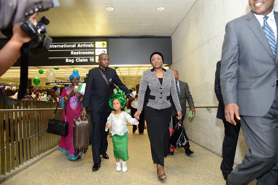Aisha Buhari US 2