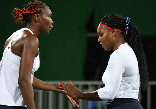 Venus misses record fifth gold in mixed doubles final